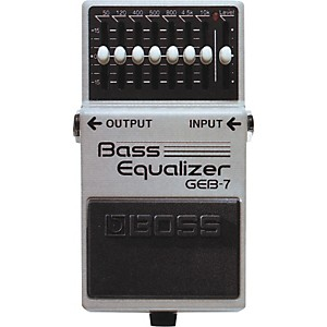Boss GEB-7 Bass Equalizer Pedal by Boss