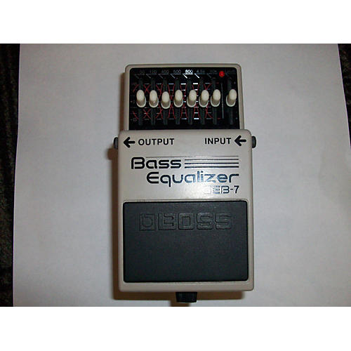 Boss GEB7 7 Band Bass Equalizer Bass Effect Pedal-thumbnail