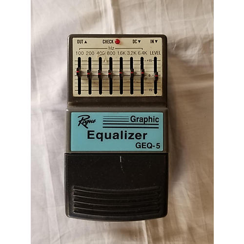 Rogue GEQ-5 Graphic Equalizer Pedal
