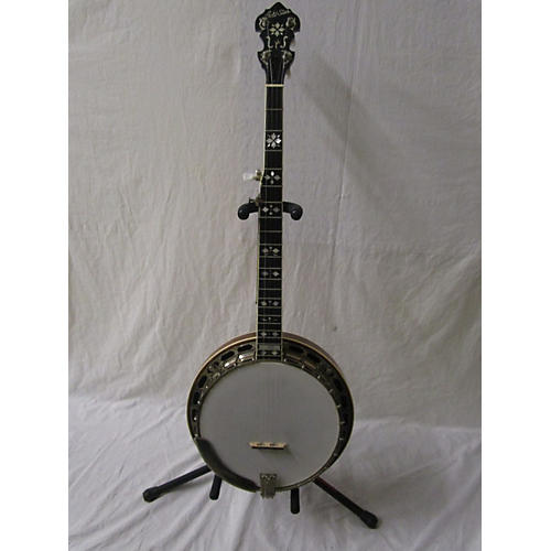 Gold Star GF11HF Heart And Flowers Banjo
