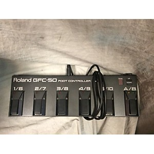 Pre-owned Roland GFC-50 Pedal Board by Roland