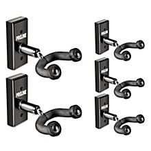 FretRest by Proline GH1 Guitar Wall Hanger 5-Pack (Black Finish)