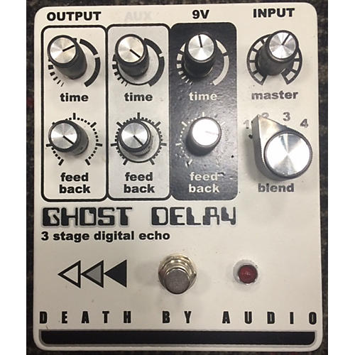 Death By Audio GHOST DELAY Effect Pedal