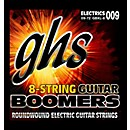 GHS Boomer 8 String Extra Light Electric Guitar Set (9-72) (GBXL-8)
