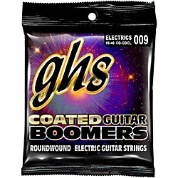 GHS GBCL Coated Boomers Custom Light Electric Guitar Strings (CB-GBCL)