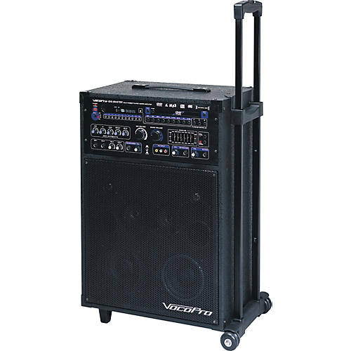 vocopro gig master 180w karaoke system guitar center. Black Bedroom Furniture Sets. Home Design Ideas