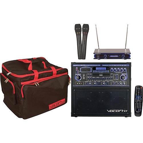 vocopro gig star karaoke machine package guitar center. Black Bedroom Furniture Sets. Home Design Ideas