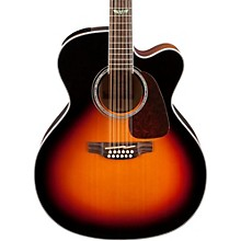 GJ72CE-12 G Series Jumbo Cutaway 12-String Acoustic-Electric Guitar Gloss Sunburst