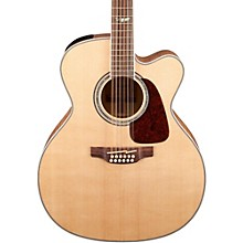 Takamine GJ72CE-12 G Series Jumbo Cutaway 12-String Acoustic-Electric Guitar Level 1 Natural Flame Maple
