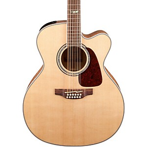 Takamine GJ72CE-12 G Series Jumbo Cutaway 12 String Acoustic-Electric Guita...