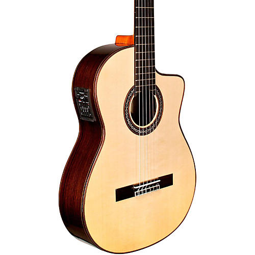 Cordoba GK Pro Maple Nylon-String Flamenco Acoustic-Electric Guitar-thumbnail