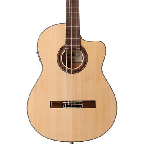 Cordoba GK Studio Acoustic-Electric Nylon String Flamenco Guitar-thumbnail