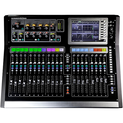 Allen & Heath GLD-80 Chrome Edition Compact Digital Mixer-thumbnail