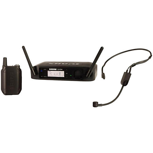 Shure GLX-D Digital Wireless Headset System with PGA31 Headset microphone Band Z2