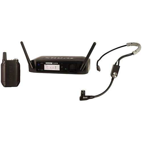 Shure GLX-D Digital Wireless Headset System with SM35 Headset Microphone-thumbnail