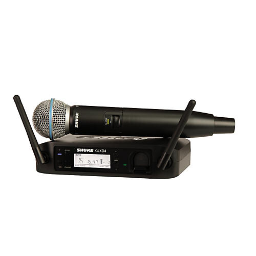 Shure GLX-D Wireless Vocal System with Beta 58 Mic-thumbnail