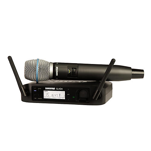 Shure GLX-D Wireless Vocal System with Beta 87A Mic-thumbnail