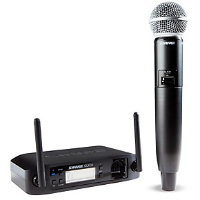 shure glx d wireless vocal system with sm58 mic z2 guitar center. Black Bedroom Furniture Sets. Home Design Ideas