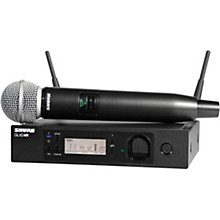 Shure GLXD24R/SM58 Handheld Wireless System