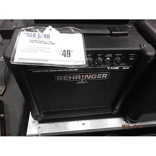 Behringer GM108 15W 1X8 V Tone Guitar Combo Amp-thumbnail