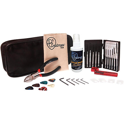 D'Andrea GMK1 Guitar Cleaner Maintenance Kit-thumbnail