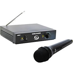 Gem Sound GMW-1 Single-Channel Wireless Microphone System