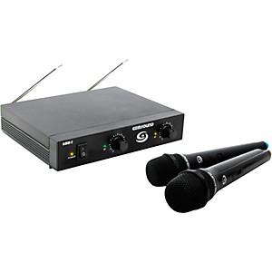 Gem Sound GMW-2 Dual-Channel Wireless Microphone System by Gem Sound