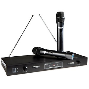 Gem Sound GMW-61 Dual Wireless Microphone by Gem Sound