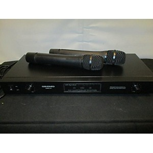 Pre-owned Gem Sound GMW-61 WIRELESS DUO Handheld Wireless System by Gem Sound