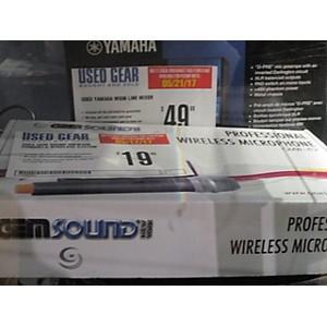 Pre-owned Gem Sound GMW42B Handheld Wireless System by Gem Sound