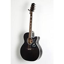 GN75CE Acoustic-Electric guitar Level 2 Transparent Black 190839079381