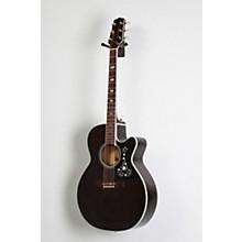 GN75CE Acoustic-Electric guitar Level 2 Transparent Black 888366045664