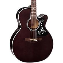 GN75CE Acoustic-Electric guitar Transparent Black