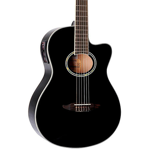 Giannini GNF-8 CEQ Cutaway Nylon String Acoustic-Electric Guitar-thumbnail