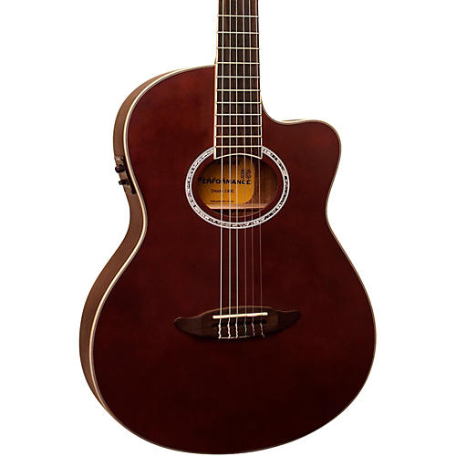 Giannini GNF-8R CEQ Cutaway Nylon String Acoustic-Electric Guitar-thumbnail