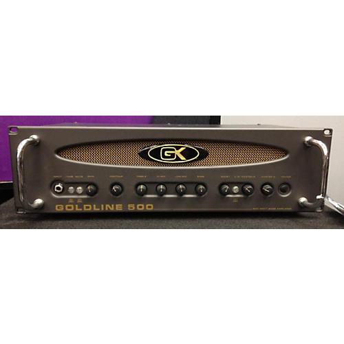 Gallien-Krueger GOLDLINE 500 Bass Amp Head-thumbnail