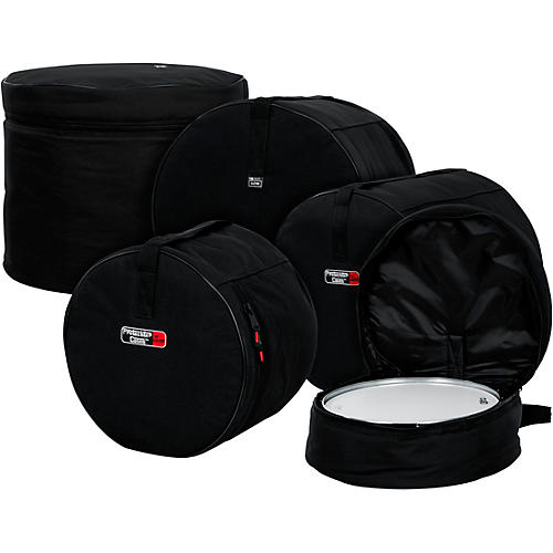 Gator GP-Fusion-100 5-Piece Padded Drum Bag Set Black
