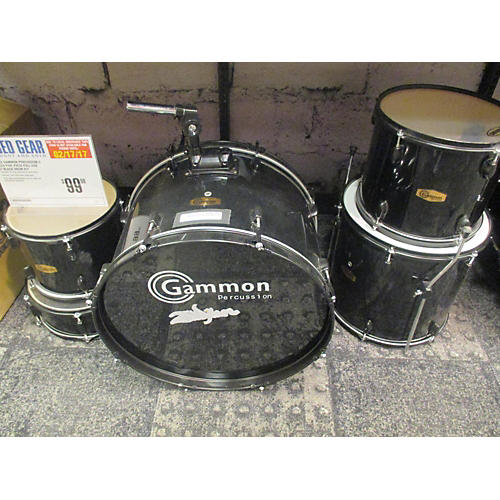 GP Percussion GP100 Complete Drum Kit Drum Kit