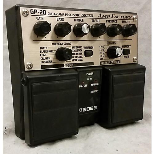 Boss GP20 AMP FACTORY Effect Processor-thumbnail