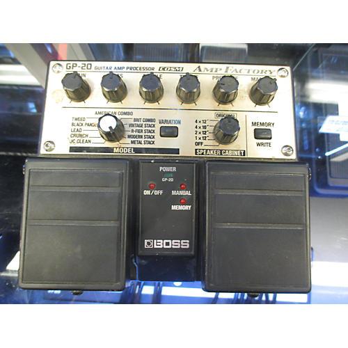 Boss GP20 Guitar Amp Processor Effect Processor-thumbnail