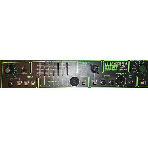 Trace Elliot GP75M 200 Bass Preamp-thumbnail
