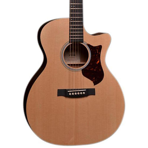 Martin GPC 14 Fret Cutaway Acoustic-Electric Guitar Sapele Natural
