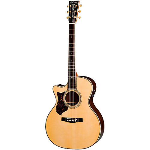 Martin GPC-42E Amazon Rosewood Left-Handed Acoustic-Electric Guitar Natural