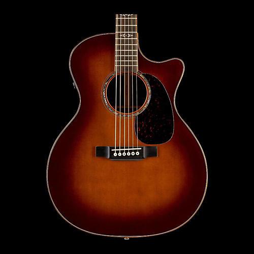 Martin GPCPA1 Plus Cutaway Acoustic Electric Guitar Ambertone-thumbnail