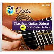Oasis GPX+ Classical Guitar Carbon Trebles High Tension