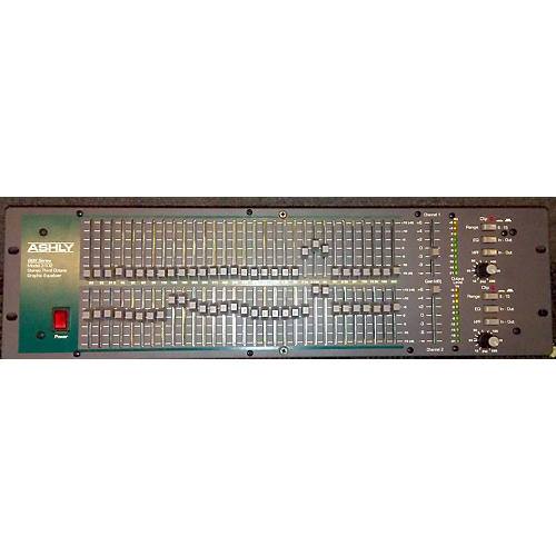 Ashly Audio GQX3102 Dual 31-Band Graphic Equalizer-thumbnail