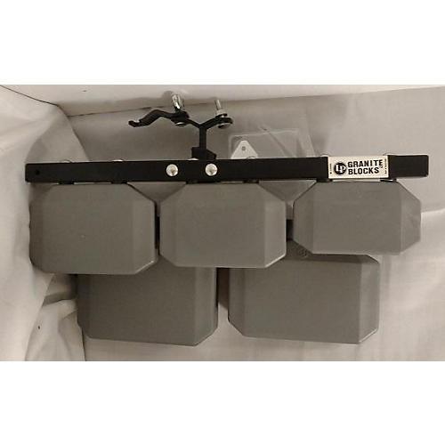 Granite Blocks Instrument : Used lp granite block wood percussion guitar center