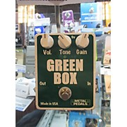 Metal Pedals GREEN BOX Effect Pedal