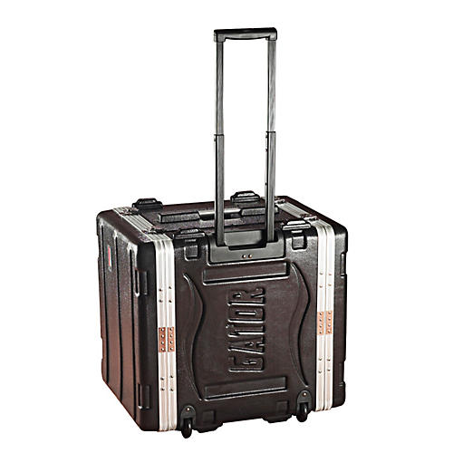 Gator GRR-10L Roller Rack Case Black 10-Space