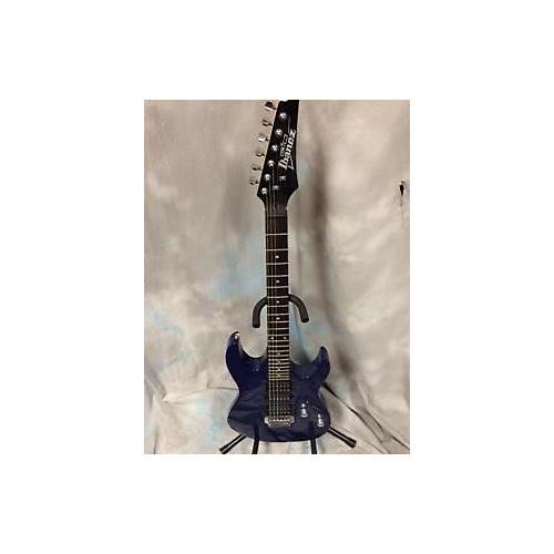 Ibanez GRX70QA Solid Body Electric Guitar Blue